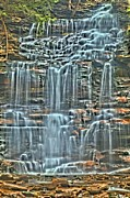 Pa State Parks Photos - Waterfall Highights by Adam Jewell