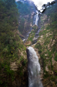 Highlands Photos - Waterfall Highlands of Guatemala 1 by Douglas Barnett