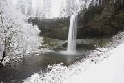 Silver River State Park Framed Prints - Waterfall In Winter Framed Print by Craig Tuttle