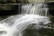 Water In Creek Prints - Waterfall motion Print by Sven Brogren