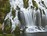 Idaho Scenery Posters - Waterfall Niagara Springs Thousand Poster by Tim Fitzharris