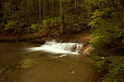 Quite Posters - Waterfall of New Hampshire Poster by Amanda Kiplinger