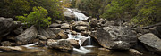 Waterfall Prints - Waterfall Panorama Print by Andrew Soundarajan