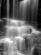Motion Framed Prints - Waterfall Framed Print by Tony Cordoza
