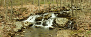 Daniel Portalatin - Waterfalls - Panoramic -...