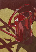 Watering Paintings - Watering Can by Sandy Tracey
