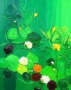 Valerie Catoire - Waterlilies from Lismore...