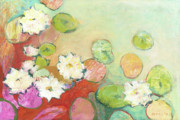 Lilly Originals - Waterlillies at Dusk No 2 by Jennifer Lommers