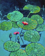 Waterlily Print by Denise Armstrong