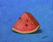 Watermelon Print by Nancy Wood