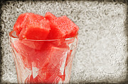 Nutrition Mixed Media - Watermelon Parfait 3 by Andee Photography