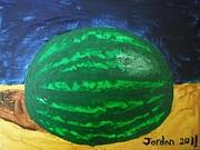 Watermelon Still Life Print by Jeannie Atwater Jordan Allen
