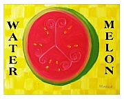 Watermelon Time Print by Nathan Rodholm