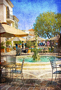 Patio Prints - Waterside Print by Chuck Staley