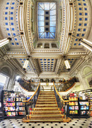 Bookstore Framed Prints - Waterstones Birmingham  Framed Print by Yhun Suarez