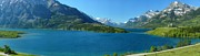 Gigapan Framed Prints - Waterton GigaPan panorama Framed Print by Dave Belcher