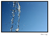 Squirting Water Framed Prints - Waterworks 8 Framed Print by Xoanxo Cespon