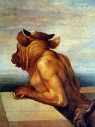 Frederick Framed Prints - Watts: The Minotaur Framed Print by Granger