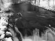 March Photos - Waupaca River in March by Thomas Young