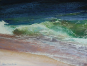 New England Pastels Prints - Wauwinet Wave III Print by Jeanne Rosier Smith