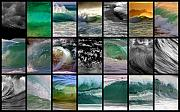 Brad Scott Prints - Wave Chart Print by Brad Scott