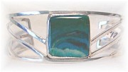 Sterling Silver Bracelet Art - Wave by Dianne Brooks