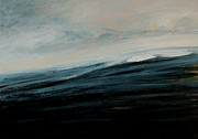 Storm Clouds Paintings - Wave by Iris Lehnhardt