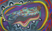 Live Pastels Originals - Wave Loop by Robert  SORENSEN