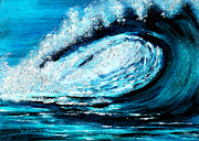 Lyn Deutsch Art - Wave by Lyn Deutsch