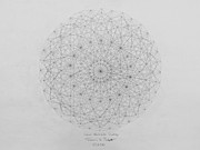 Pi Drawings Posters - Wave Particle Duality Original Poster by Jason Padgett