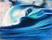Wave Pastels - Wave by Renate Dohr