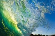 Glare Posters - Wave Splash Poster by Quincy Dein - Printscapes