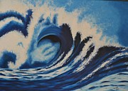 Usha Rai Art - Wave by Usha Rai