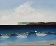 Surreal Landscape Mixed Media - Waves 1 by Patrick J Murphy