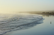 Auckland Prints - Waves At Muriwai Beach Print by Aaron Lancaster