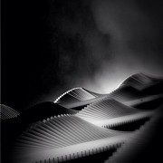Featured Metal Prints - Waves Of Steel - Concrete Jungle Metal Print by Robbert Ter Weijden