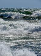Michelle Calkins - Waves on Lake Michigan