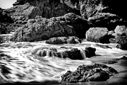 Waves On Leo Carillo State Beach Print by Ken Wolter