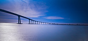 Bay Bridge Prints - Way Over the Bay II Print by Ryan Hartson-Weddle