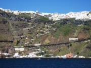 Greece Photos . Photos - Way to Santorini Top by Piety DSILVA