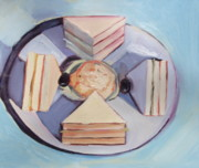 Sandwich Paintings - Wayne Thiebaud Master Copy by Lindsey Hopkins
