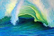 Oceanscape Paintings - We Are One by Brian  Commerford