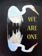 Special Occasion Painting Posters - We Are One Poster by Eric Kempson