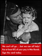 Soldier Metal Prints - We Cant All Go Metal Print by War Is Hell Store