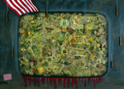 War Mixed Media - We dont see the whole picture by James W Johnson