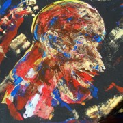 Slaves Paintings - We Must Have Total Control by Tyrone Hart