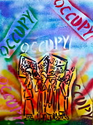 Tea Party Paintings - We Occupy by Tony B Conscious