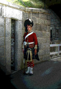 Bayonet Photo Prints - We Stand On Guard For Thee Print by Al Bourassa