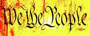 We The People Posters - We The People Celebrate a Republic Artist Series jGibney The MUSEUM Poster by The MUSEUM Artist Series jGibney