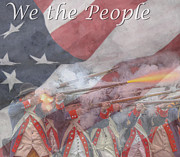 We The People Posters - We The People Poster by Randy Steele
